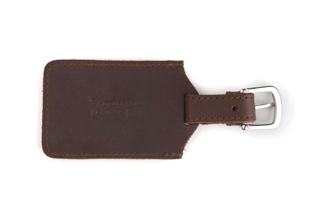 Saddleback Leather Luggage Tag