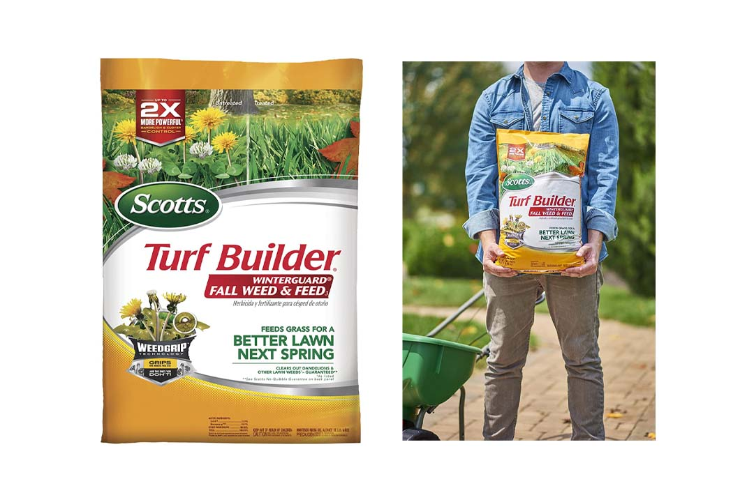 Scotts Turf Builder Winter Guard Fall Weed & Feed Fertilizer
