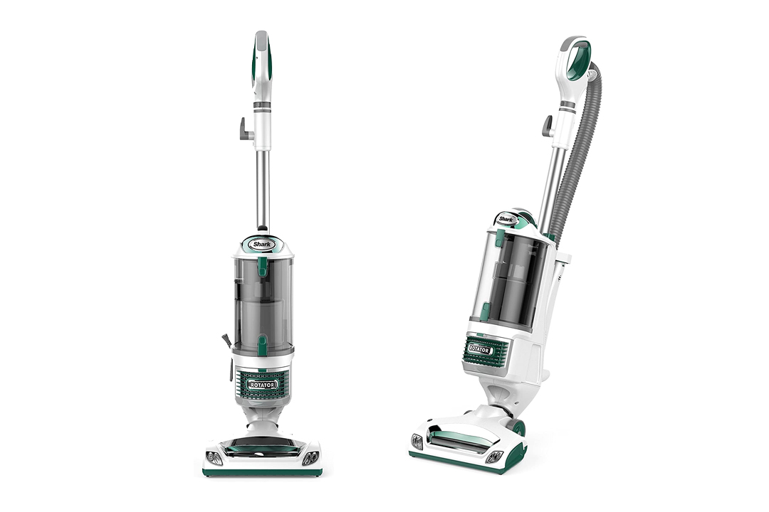 Shark Rotator Professional Upright Corded Bagless Vacuum for Carpet and Hard Floor with Lift-Away Hand Vacuum and Anti-Allergy Seal (NV501GN), Green