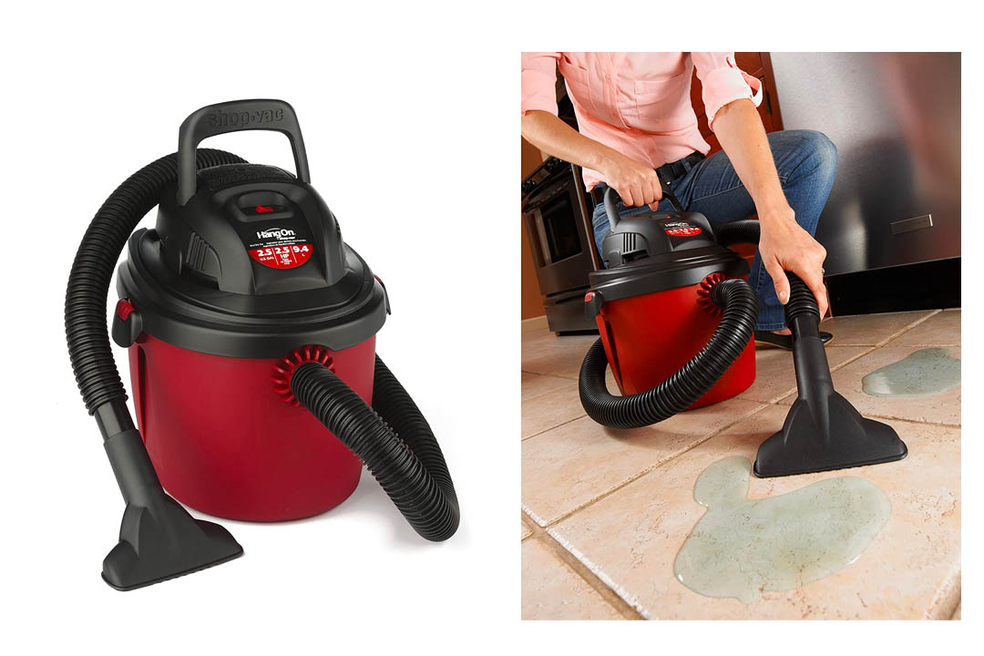Shop-Vac 2036000 2.5-Gallon 2.5 Peak HP Wet Dry Vacuum