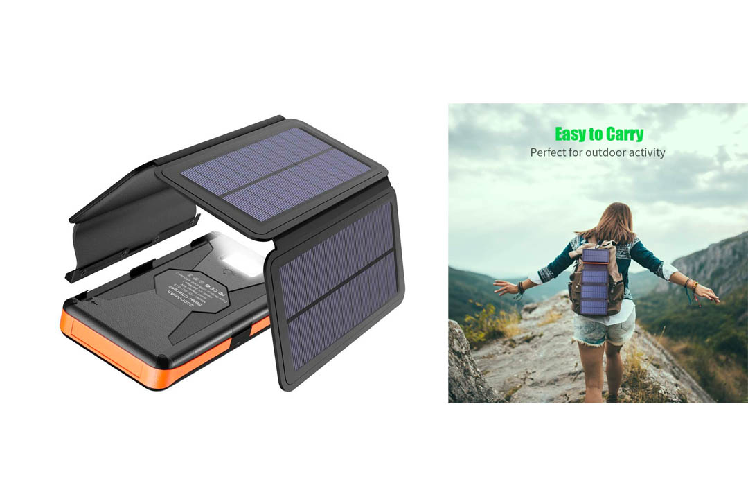 Solar Charger X-DRAGON 25000mAh Portable Power Bank