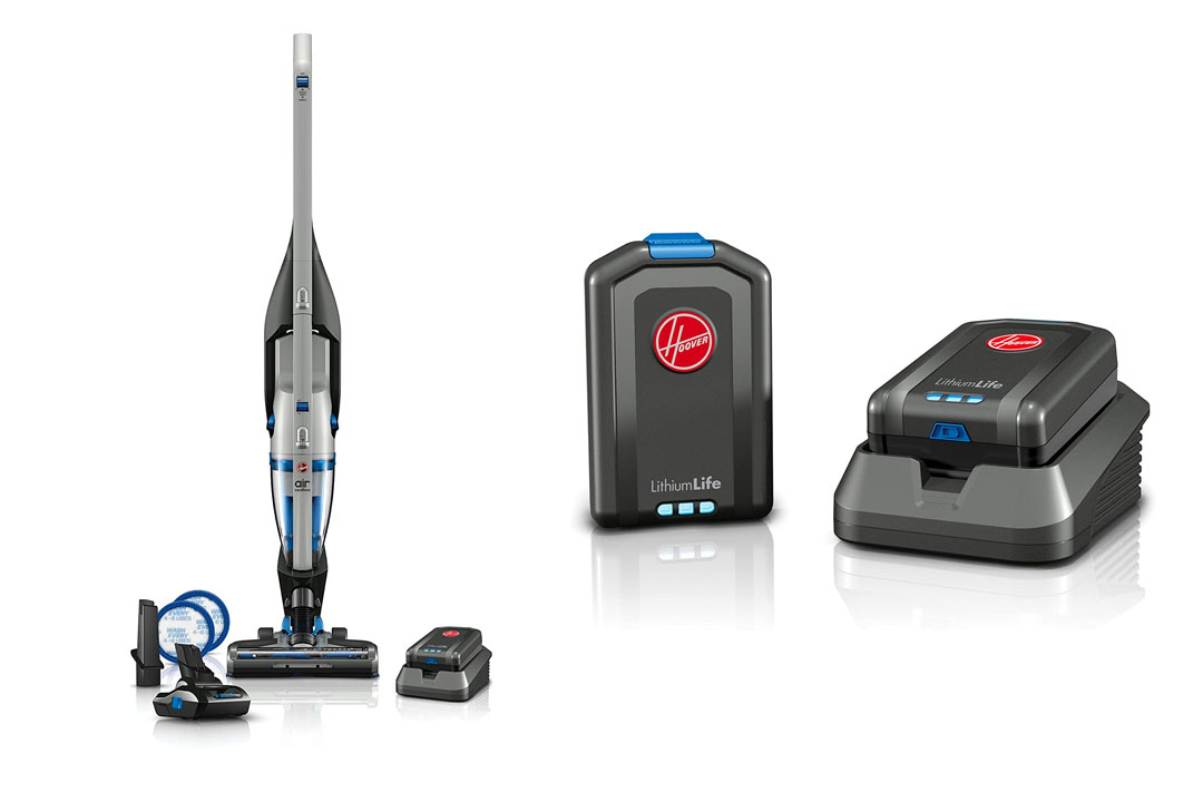 The Hoover Air Cordless 2-in-1 Deluxe Stick And Handheld Vacuum BH52120PC