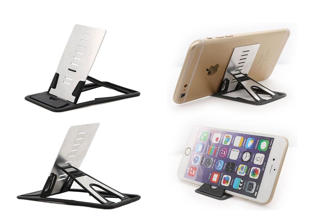 The iPhone Kickstand, iPad Kickstand, iMangoo Multi-angle Holder Tablet Dock Adjustable Foldable
