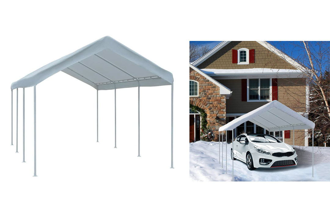 Abba Patio 10 by 20-Feet Domain Outdoor Carport
