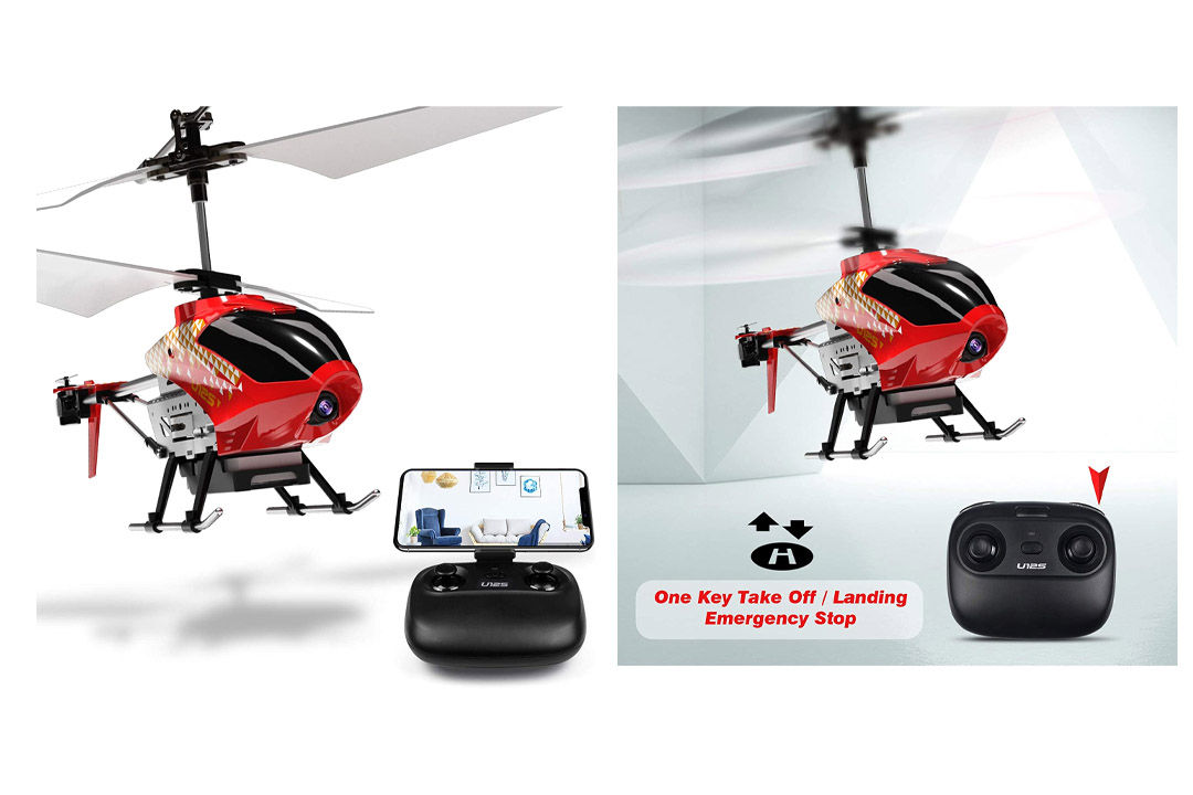 Cheerwing U12S Mini RC Helicopter with Camera Remote Control Helicopter