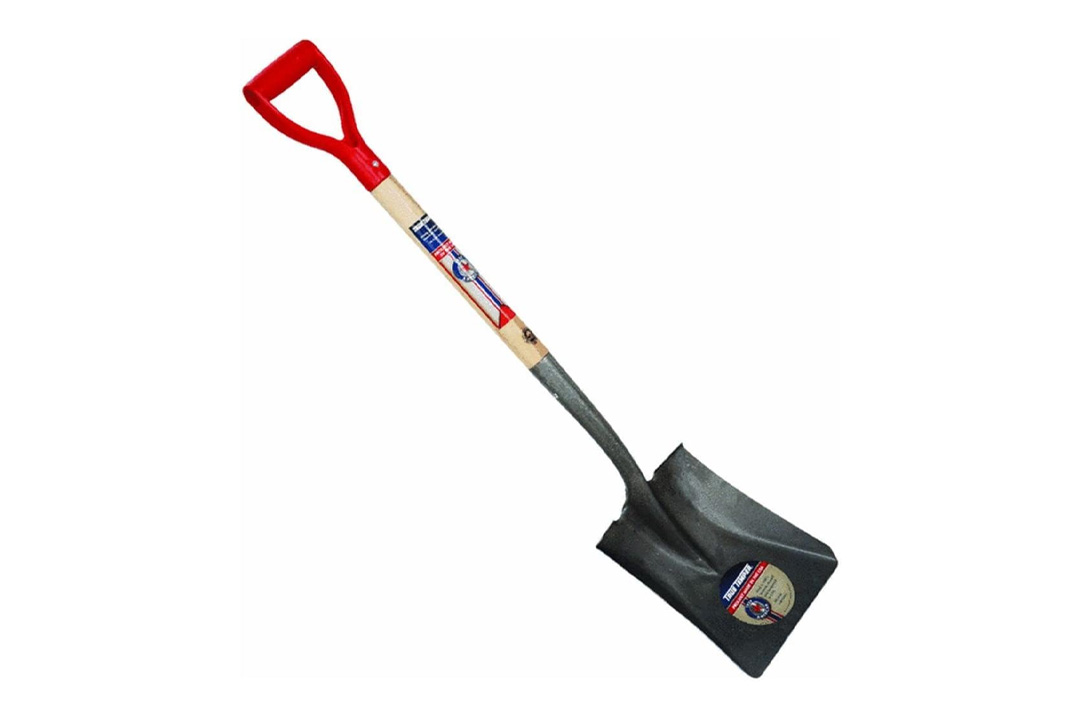 D Shaped Wood Handle Shovel