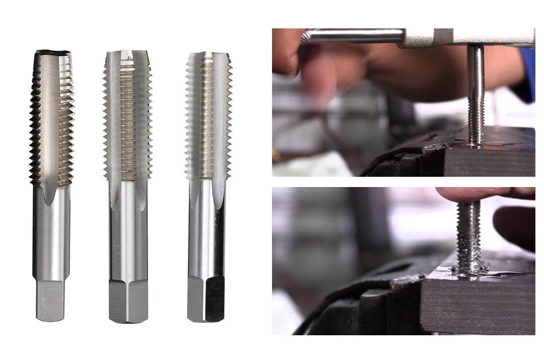 Drill America Steel Hand Threading Tap Set