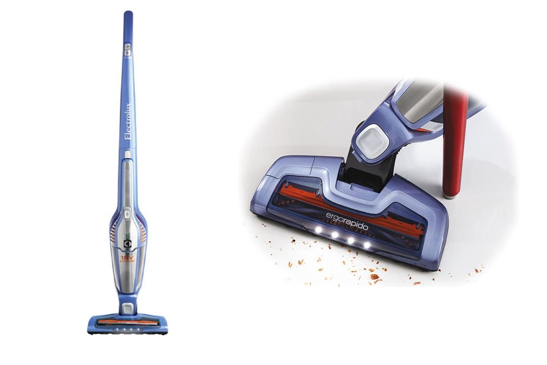 Electrolux Ergorapido Power Ion 2-in-1 Stick Vacuum, Blue
