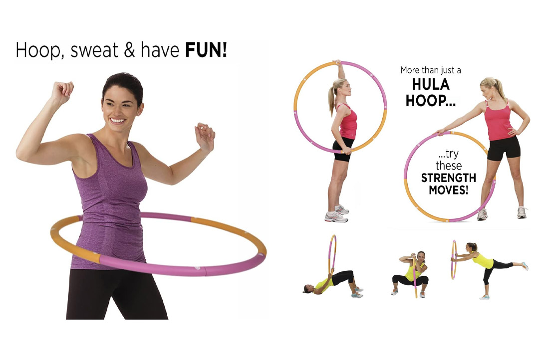 Empower Cardio Core and More Customizable Weighted Hoop