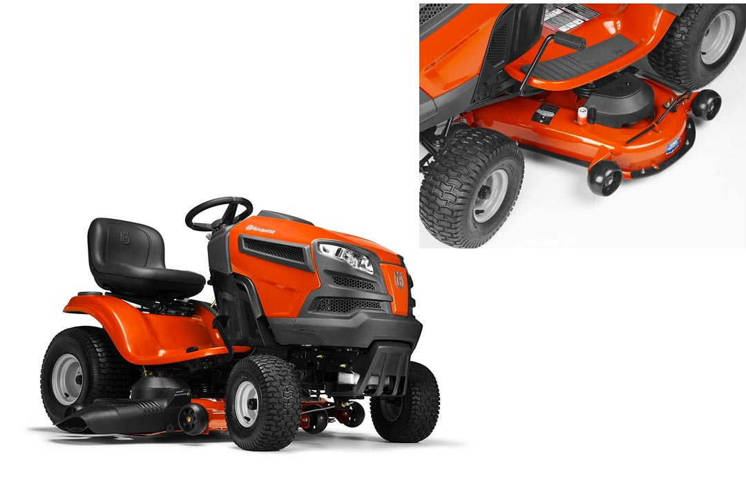 "Husqvarna YTH24V48 24hp 724cc Briggs 48"" Lawn Tractor"
