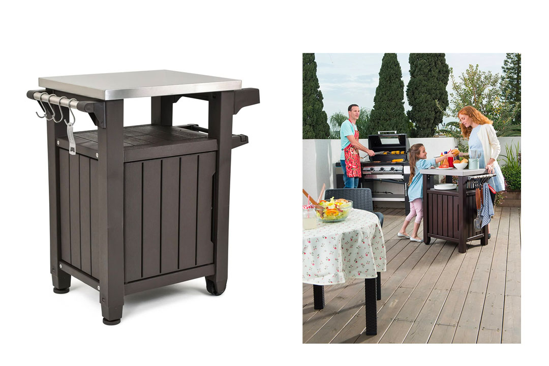 Keter Unity Entertainment Storage Table