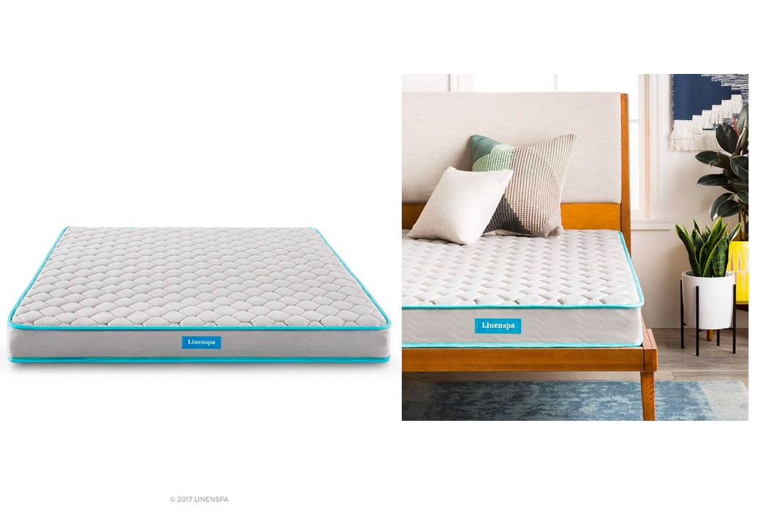 "LinenSpa 6"" Innerspring Mattress, Twin X-Large"