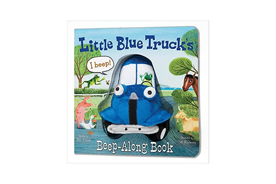 Little Blue Truck's Beep-Along Book by Alice Schertle (Author) and  Jill McElmurry (Illustrator)
