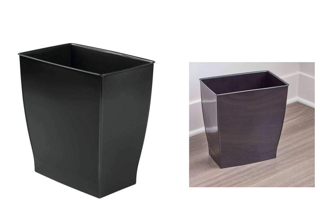 Mono Wastebasket Trash Can