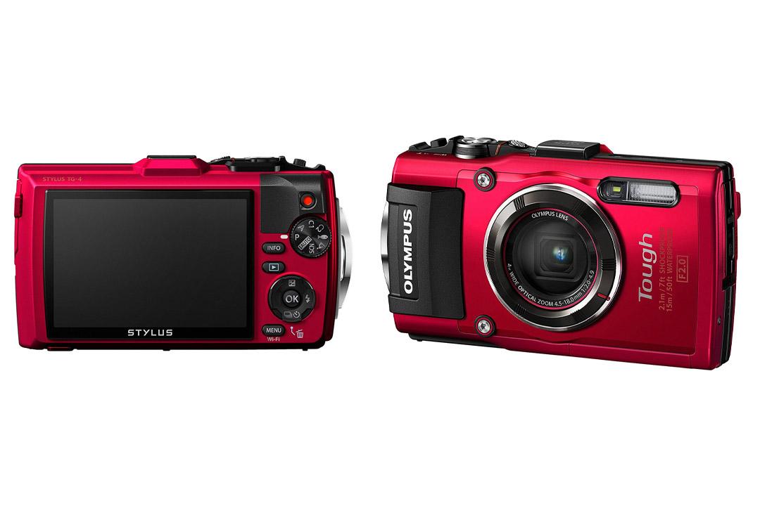Olympus TG-4 16 MP Waterproof Digital Camera