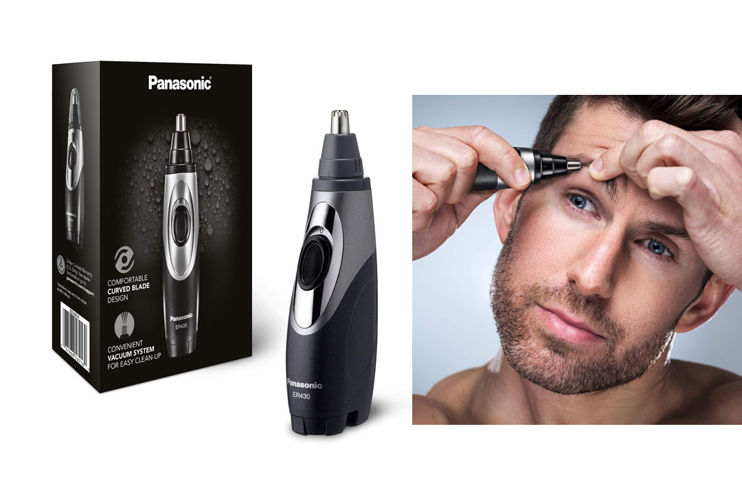 Panasonic Ear & Nose Trimmer with Vacuum Cleaning System