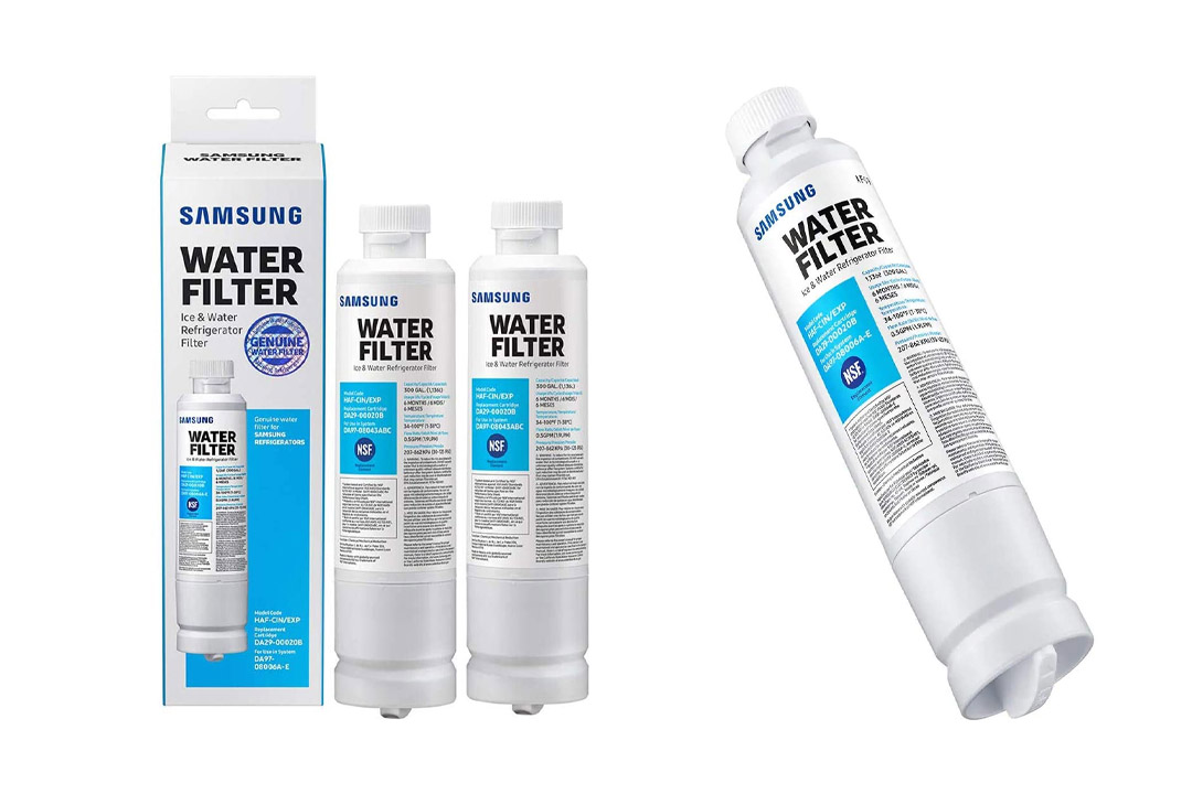 Samsung Genuine DA29-00020B Refrigerator Water Filter, 2 Pack (HAF-CIN-2P/EXP)