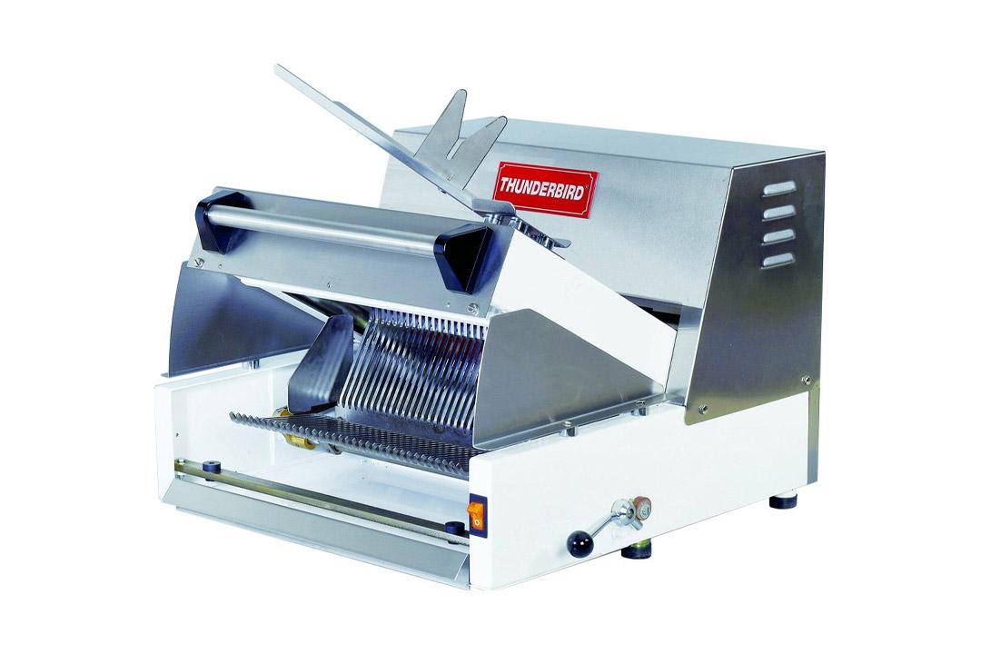 "Thunderbird EURO CUT 007"" Semi-Automatic Bread Slicer, 25"" Length x 20.5"" Width x 9"" Height"