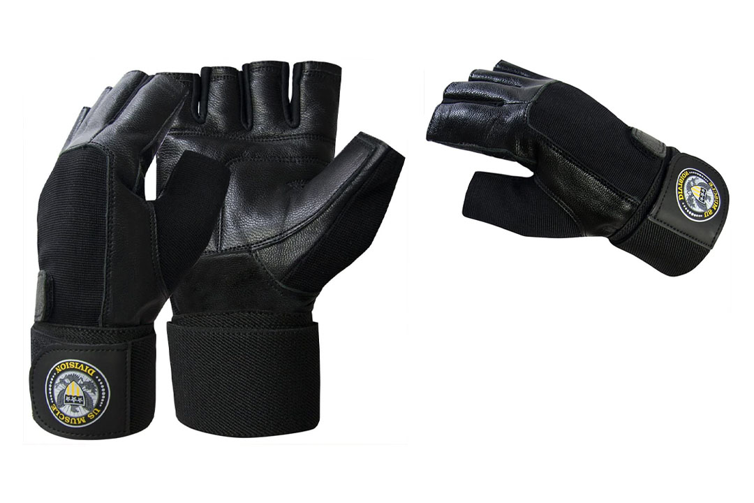 US Muscle Division Weight Lifting Gloves