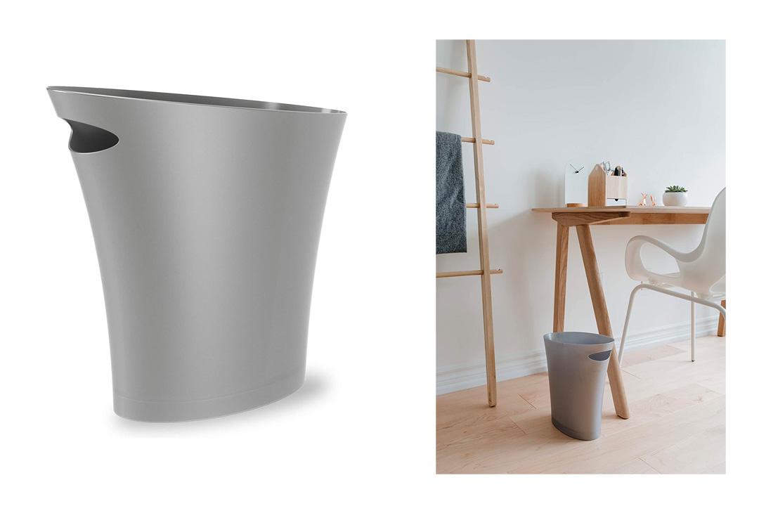 Umbra Skinny Polypropylene Waste Can