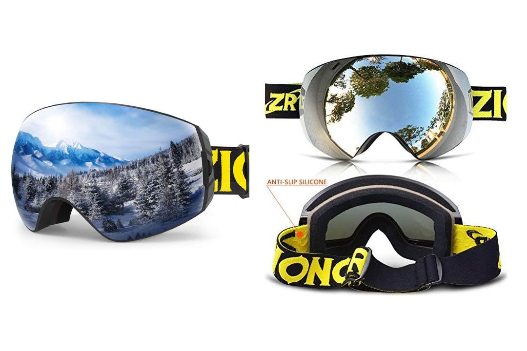 ZIONOR Lagopus X7 Ski Goggles