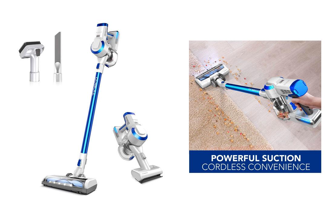 tineco A10 Hero Cordless Vacuum Cleaner, 350W Digital Motor, Lithium Battery