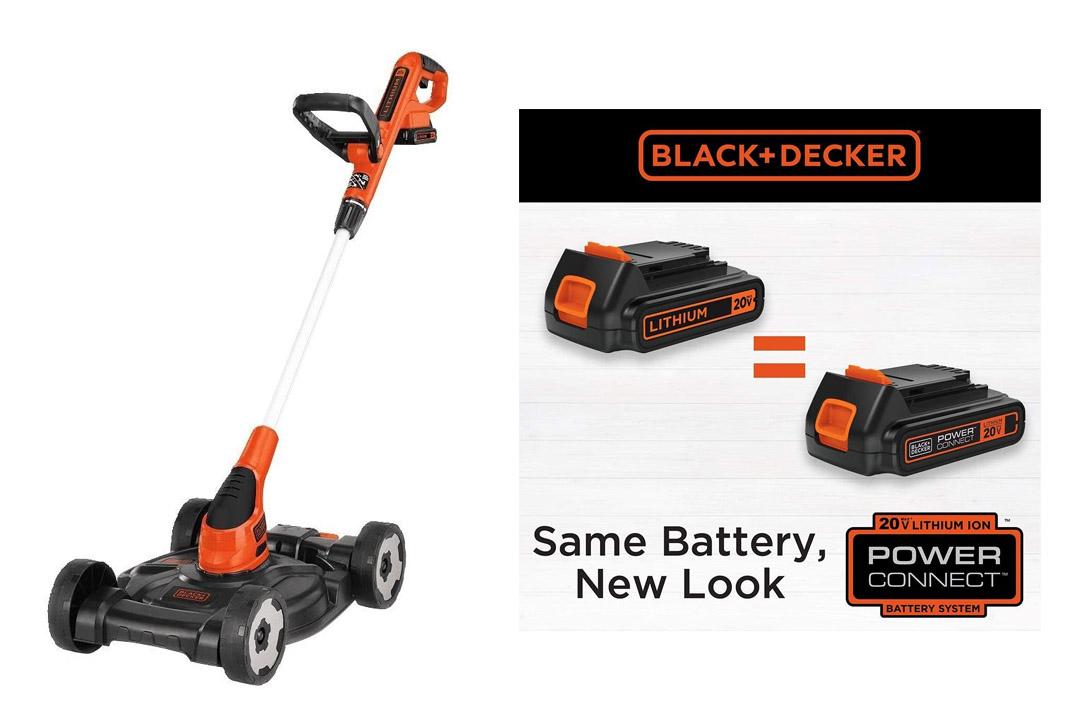 BLACK+DECKER MTC220 20V 3-in-1 Trimmer/Edger and Mower