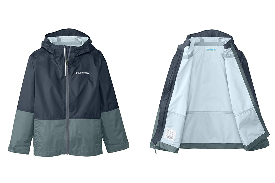 Big Boy's Columbia Trail Trooper Rain Jacket
