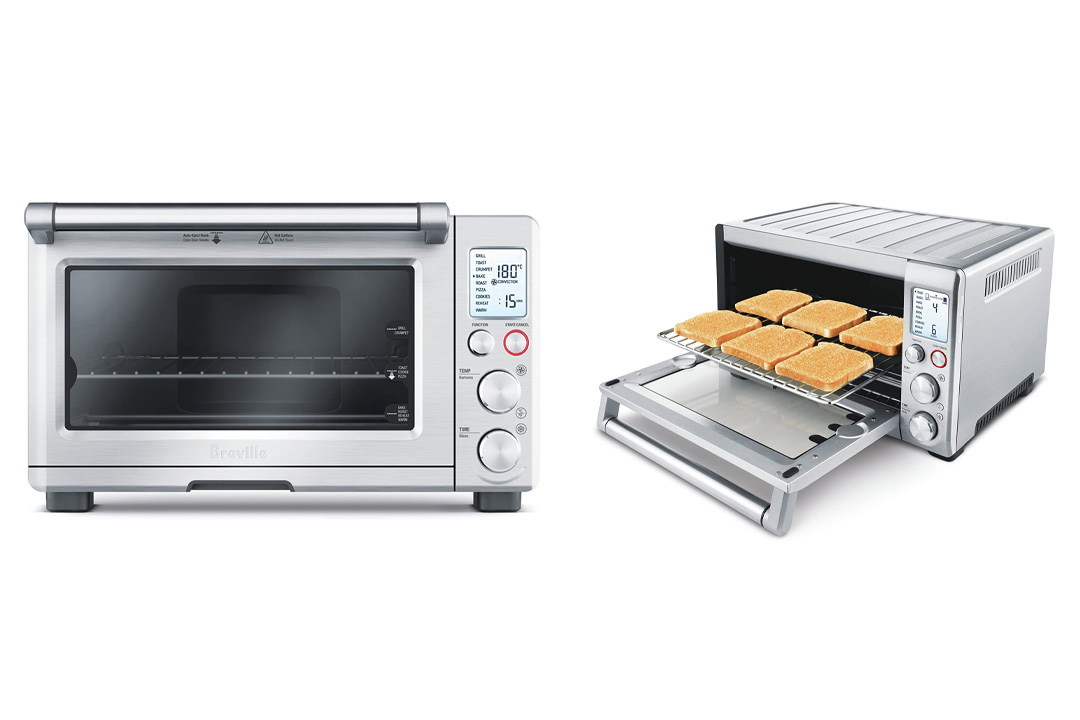 Breville BOV800XL Smart Oven 1800-Watt Convection Toaster Oven