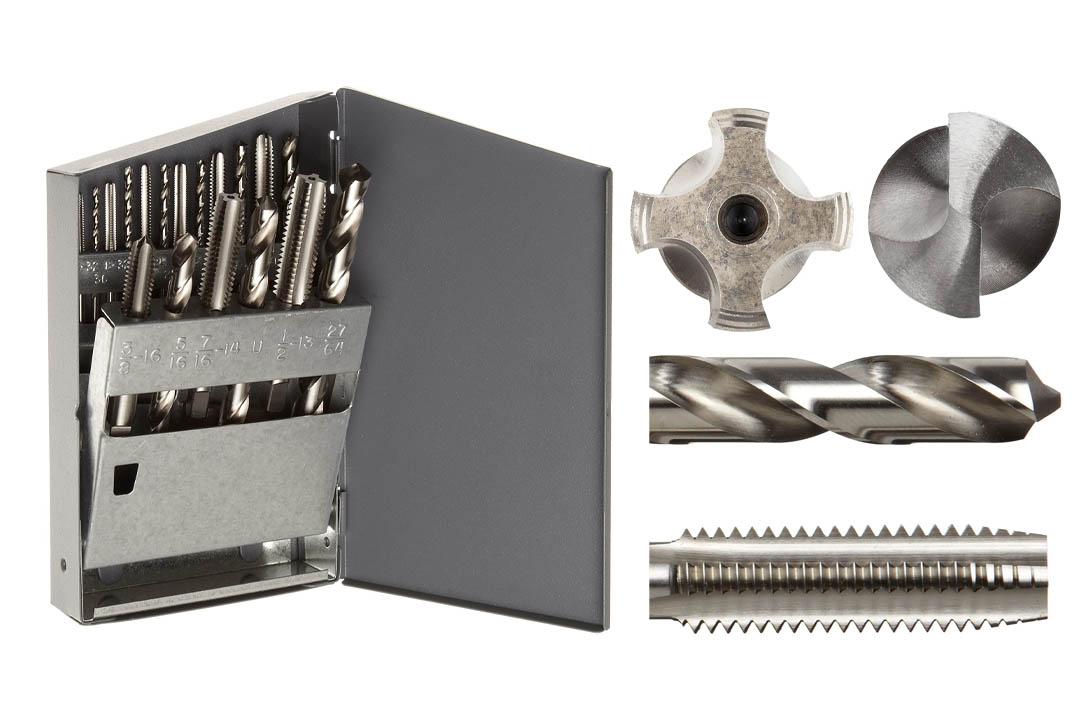 Chicago High-Speed Steel Jobber Length Drill Bit