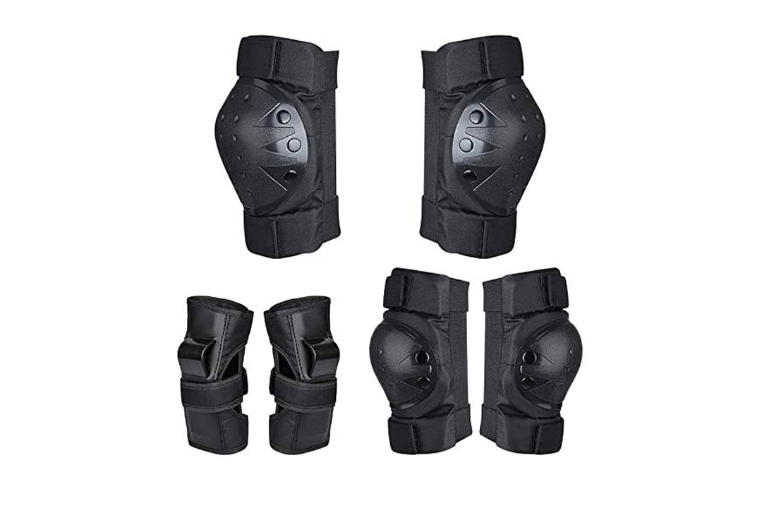 DOMEANYWAY Kids Knee Pads and Elbow Pads