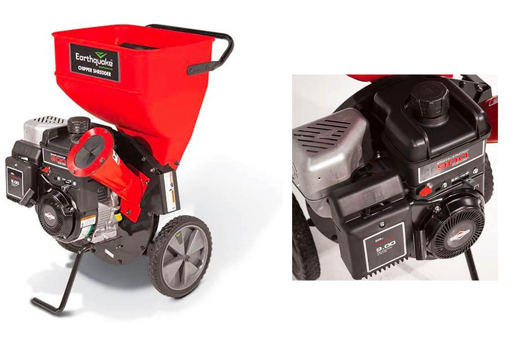 Earthquake 9060300 Chipper Shredder with 205cc 4-Cycle Briggs & Stratton Engine