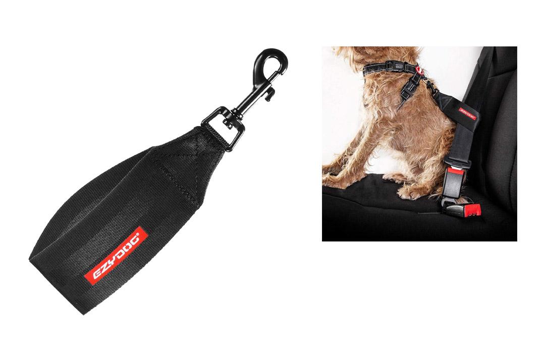 EzyDog Universal Dog Car Restraint, Seat Belt Pet Safety Lead, Vehicle Seatbelt Harness