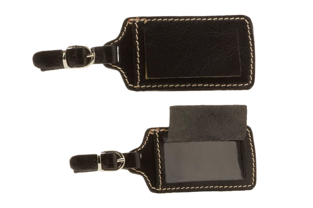 Floto Leather Luggage Tag