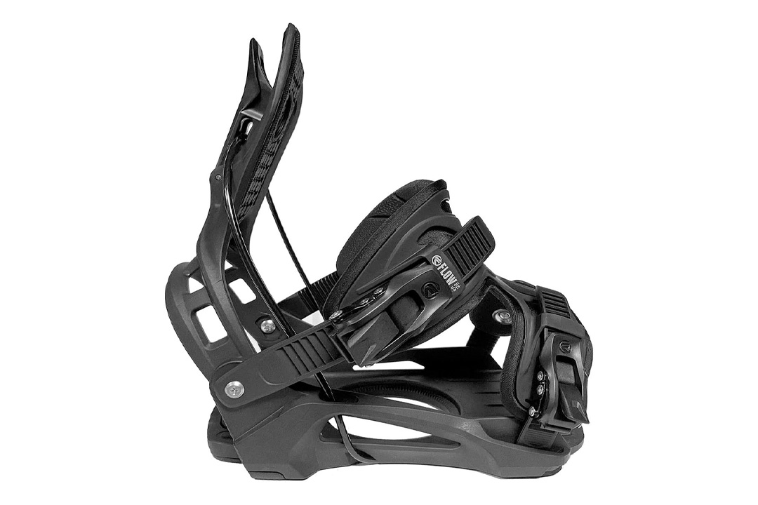 Flow Alpha MTN Snowboard Bindings 2021 with Upgraded LSR Ratchets