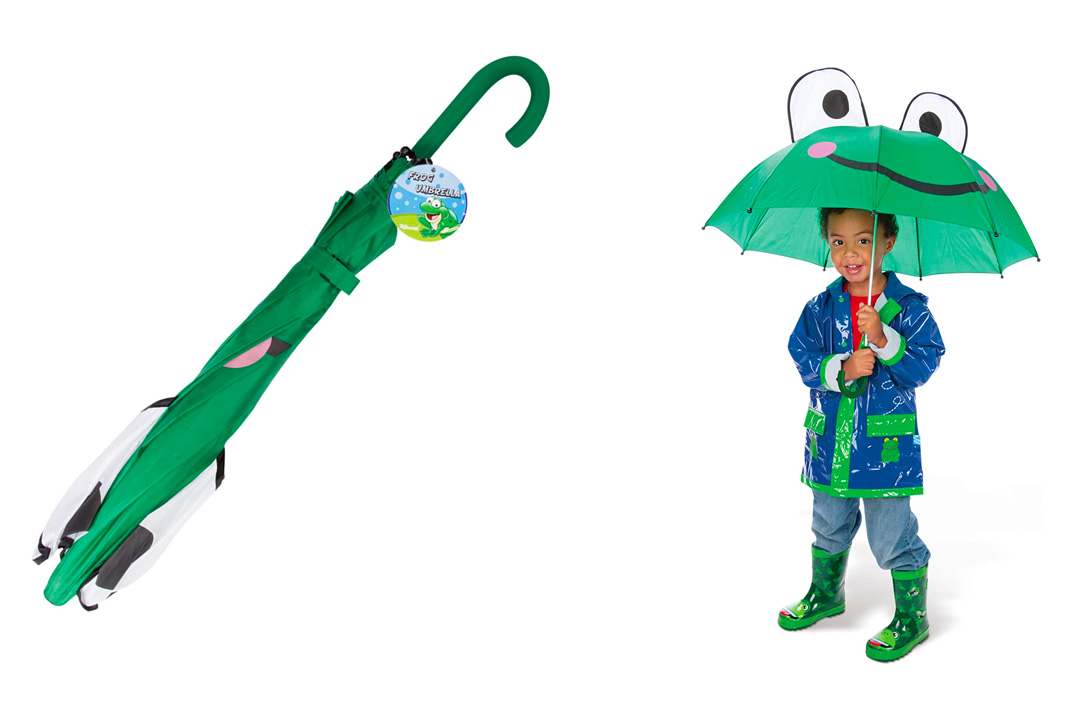 Frog Umbrella for Kids