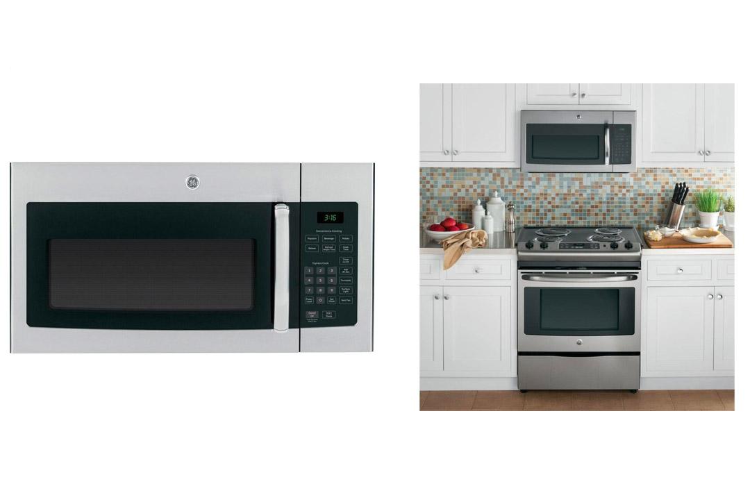 "GE JVM3160RFSS 30"" Over-the-Range Microwave Oven"