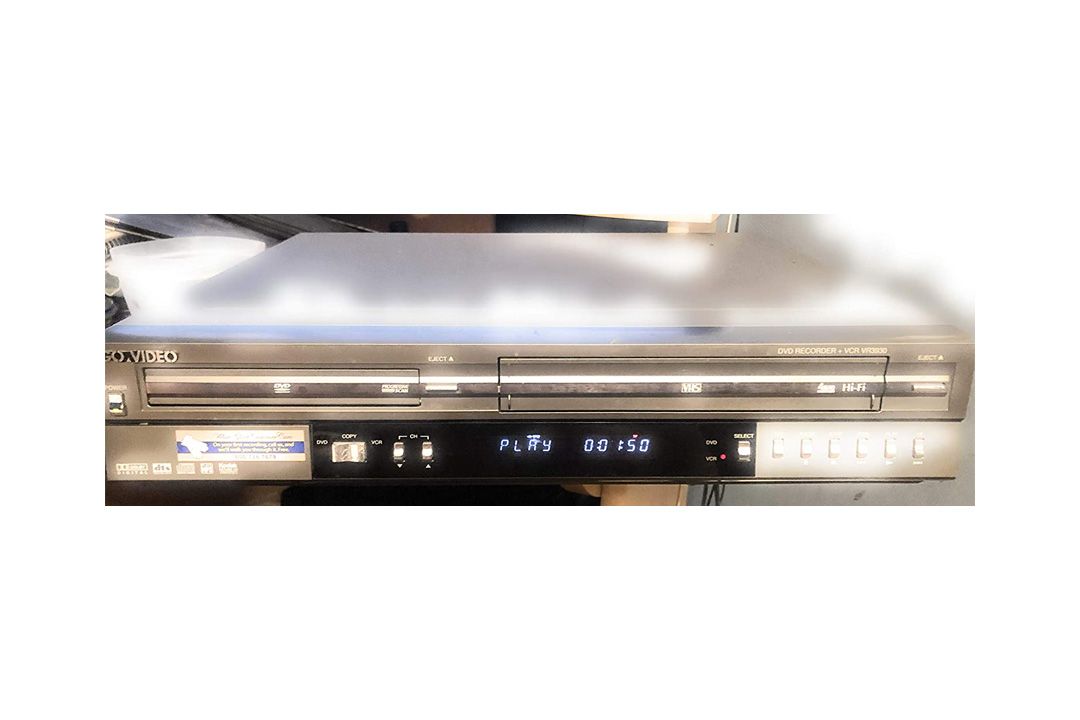 GO VIDEO DVD Recorder + VCR VR3930