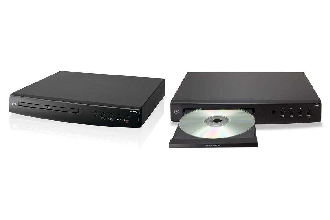 GPX DH300B 1080p Up conversion DVD Player with HDMI