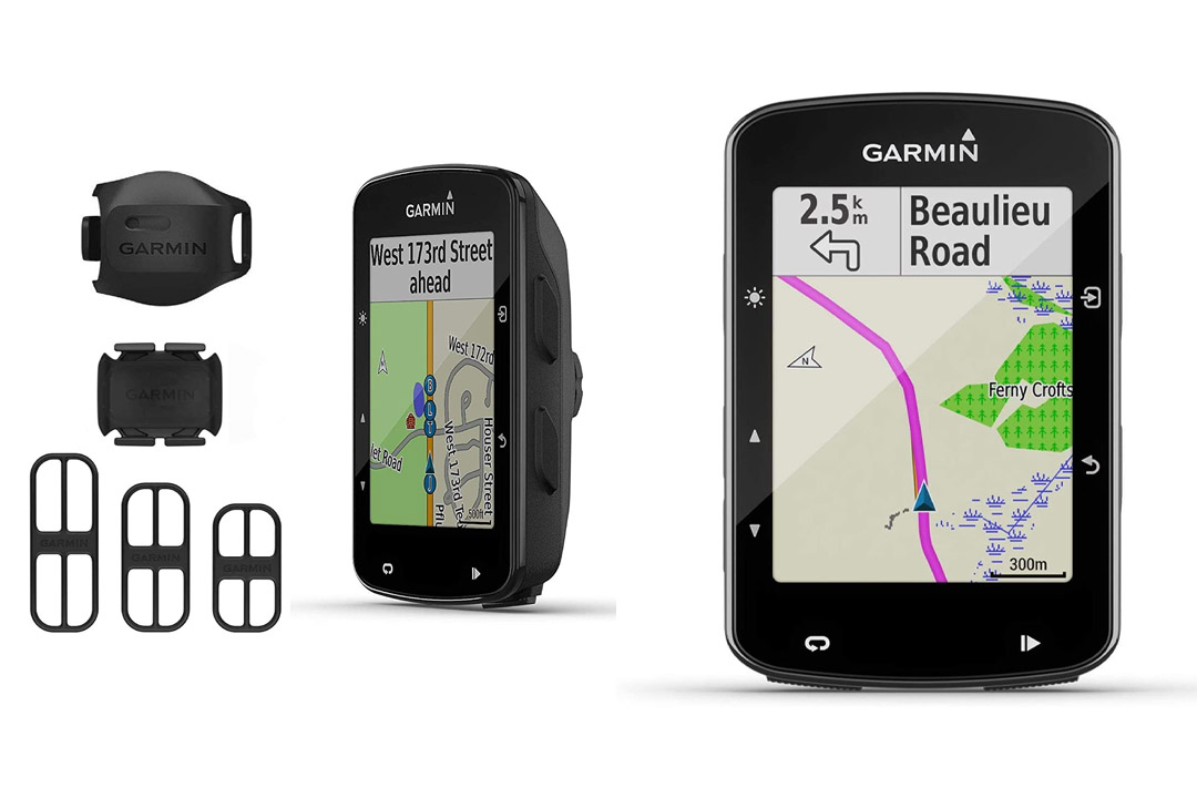 Garmin Edge 520 GPS Cycling Computer 010-01368-00 and Garmin Bike Speed GPS