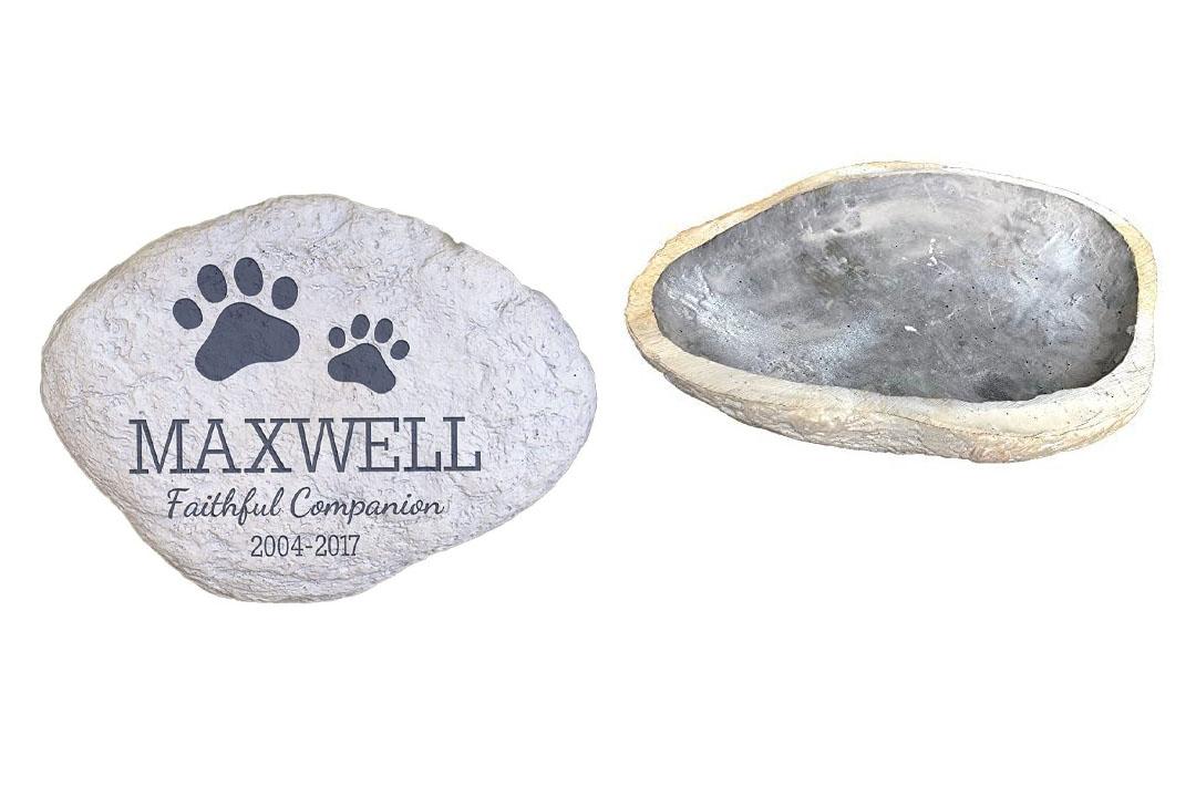GiftsForYouNow Personalized Pet Memorial Garden Stone