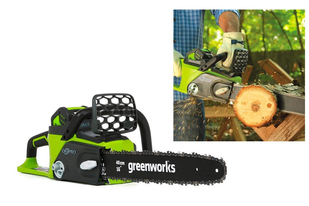 GreenWorks 20322 G-MAX 40V Cordless Chainsaw