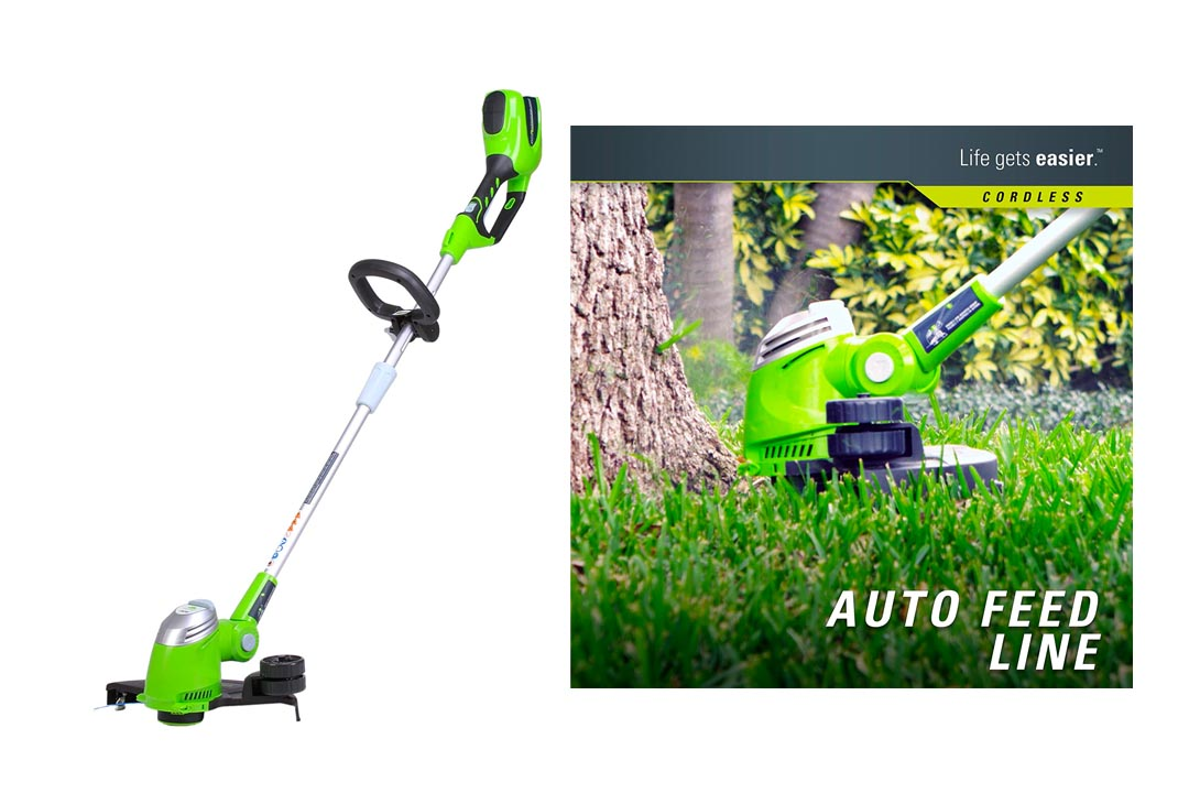 GreenWorks 21332 G-MAX 40V Cordless String trimmer
