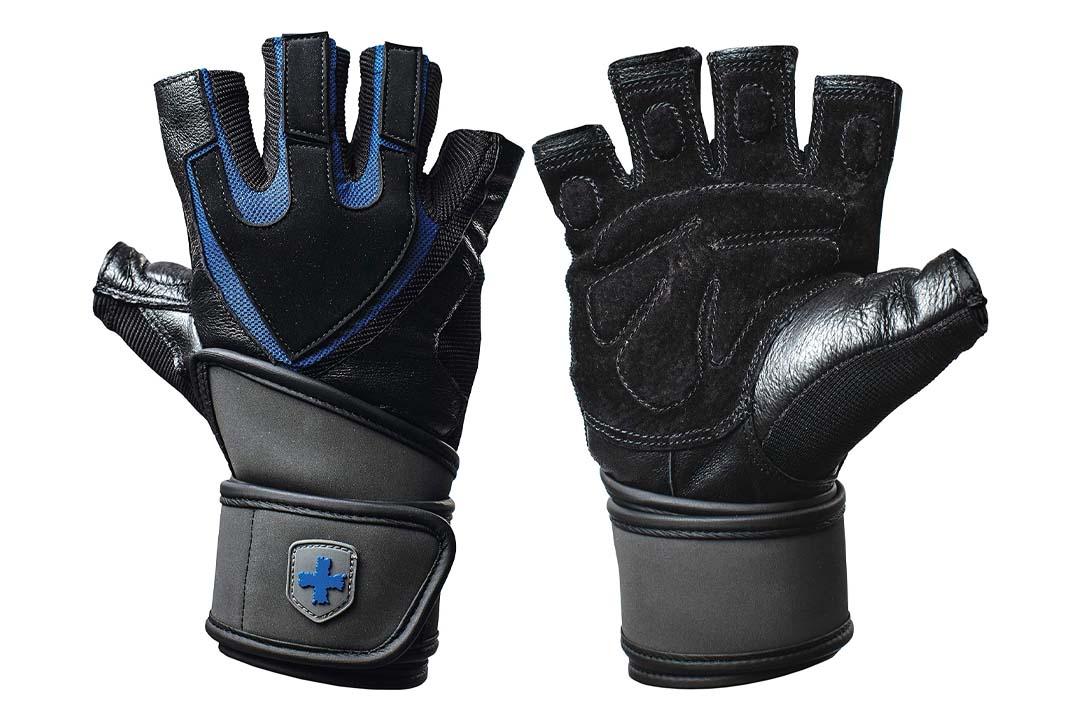 Harbinger Training Grip Wristwrap Weightlifting Gloves