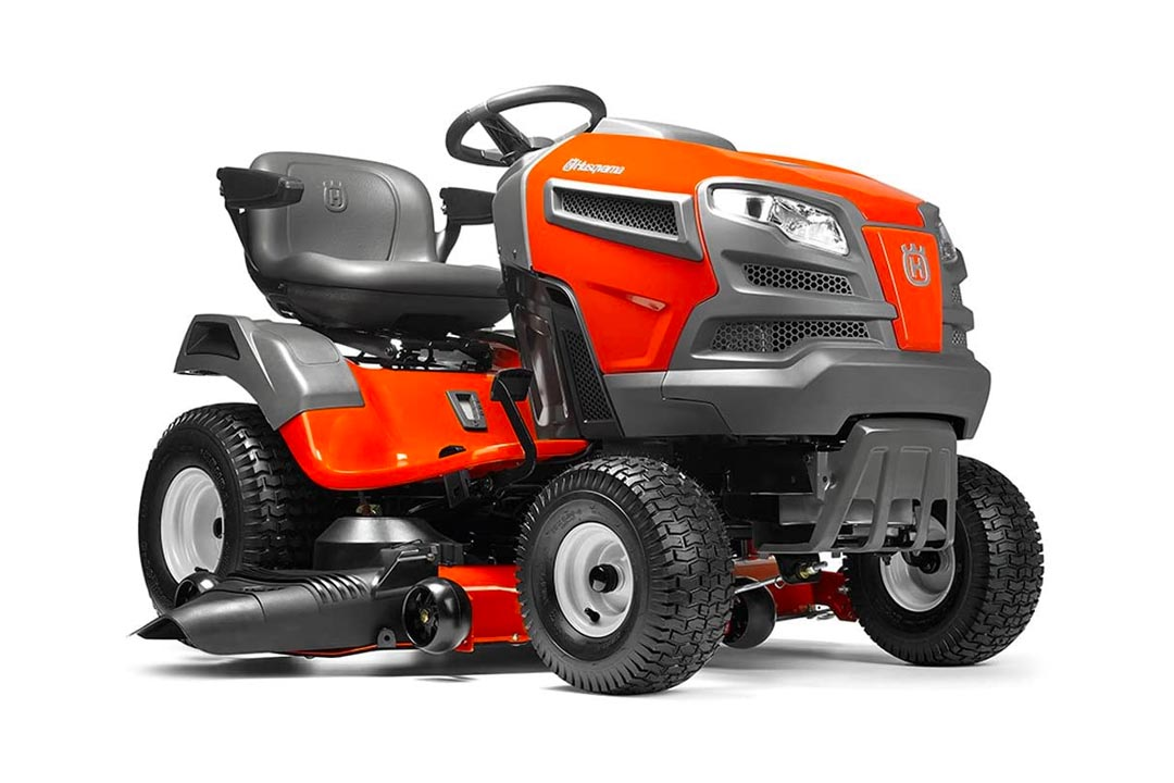 Husqvarna Fast Continuously Variable Transmission Pedal Tractor Mower