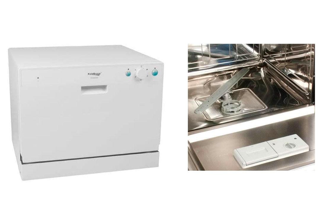 Koldfront PDW60EW 6 Place Setting Countertop Dishwasher - White