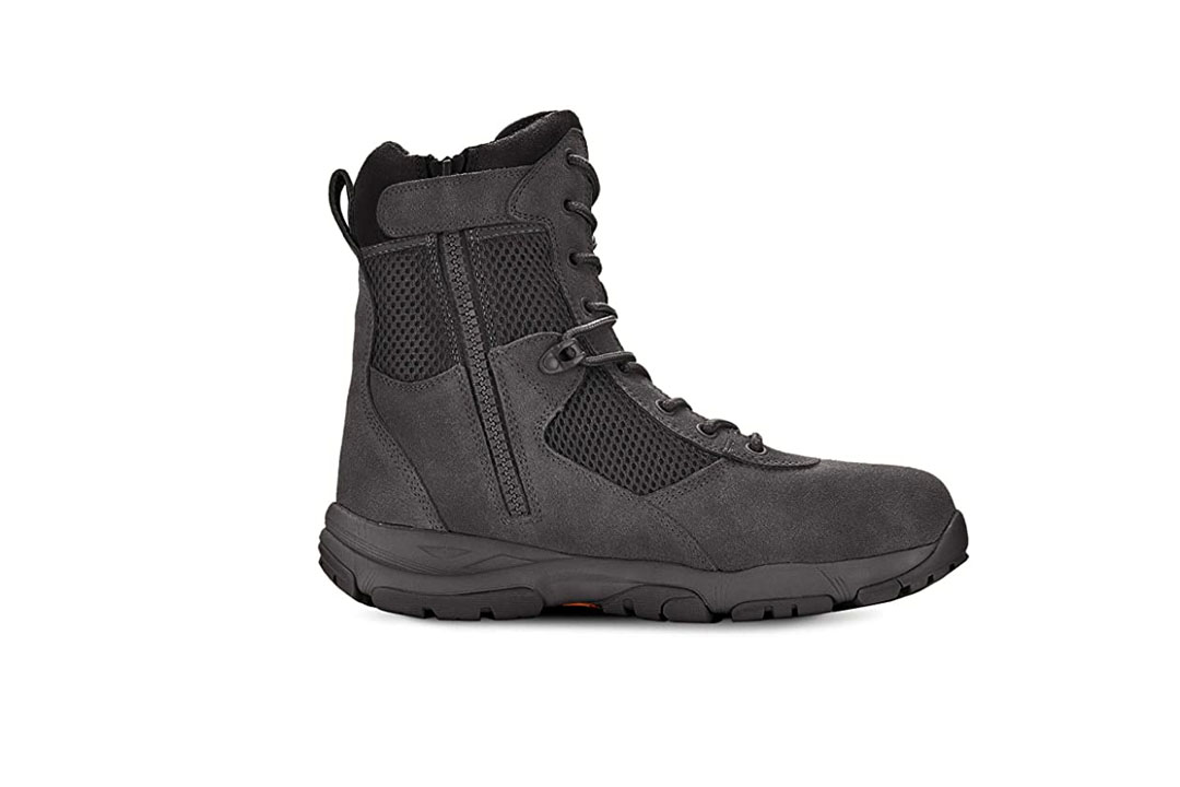 Maelstrom Men's LANDSHIP Military Tactical Duty Work Boot with Zipper