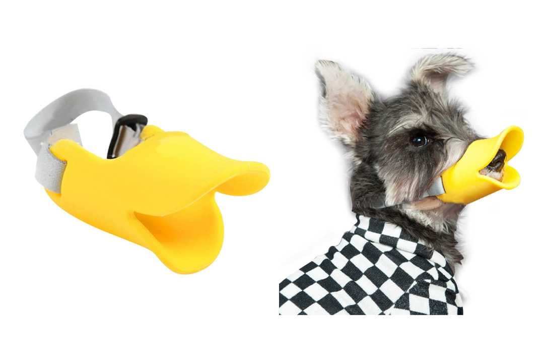 NACOCO Anti Bite Duck Mouth Shape Dog Mouth Covers Anti-called Muzzle