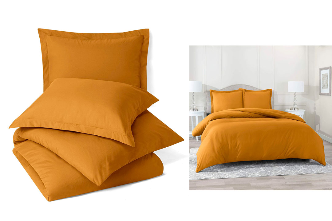 Nestl Bedding Duvet Cover, Protects, and Covers your Comforter / Duvet Insert