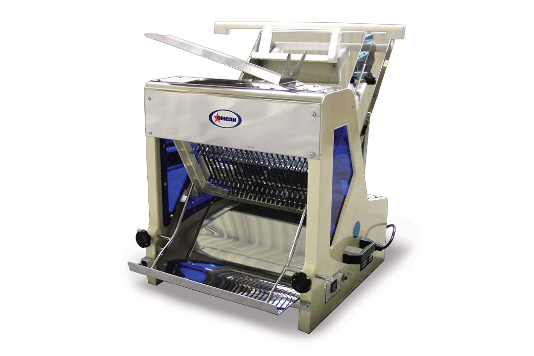 """Omcan 10249 commercial 5/8"""" Heavy Duty Automatic Electric Bread Slicer SM30258"""
